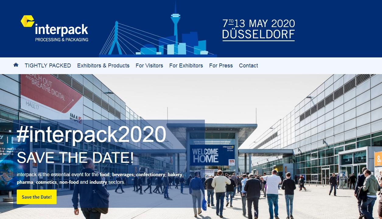 Виставка Німеччина Interpack 2020