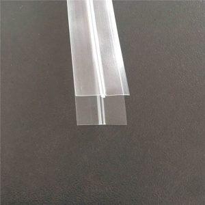 Прозорий пластиковий мішок блискавки